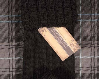Finest traditional hand knitted kilt hose - Made in Scotland
