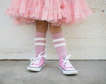 Kiss my socks - Pink Striped