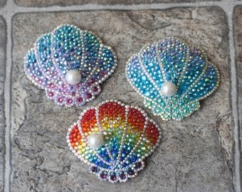 Royal Seashell Hair Clip/Brooch