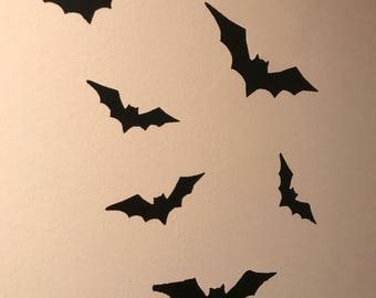 Bat wall decals/halloween decor/removeable wall decal/halloween party decorations