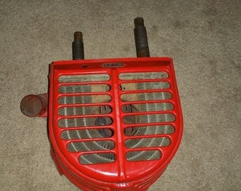 Vintage Red Arvin Truck Heater Good Daily Driver or Great Wall-Art!