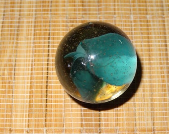 Vintage Cats-Eye Boulder/ Glass Marbles / Toy Marbles / Game Marbles / Craft Supplies / Vintage Marbles / Cat's-Eye