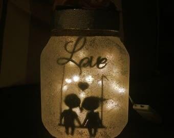 Sweet love in a jar