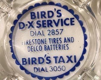Vintage advertising ashtray D-X