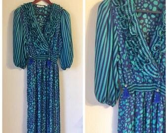 Vintage Diane Freis Style dress M