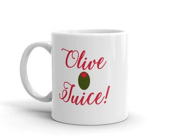 Olive Juice - Mug - Olive Heart