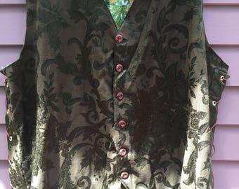 Santa Renaissance style vest