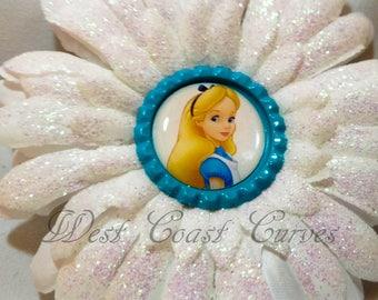 Alice in Wonderland Inspired Hair Clip
