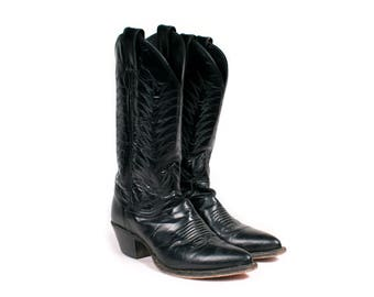 Women's Leather Cowboy Boot