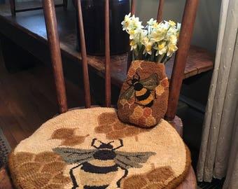Bee hive Chair pad