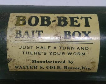 Bob-Bet bait box