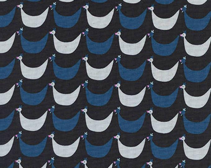 Pre-Sale- Flock in Black -Welsummer -Kim Kight for Cotton + Steel