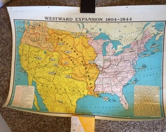 Two States Map Print Etsy - Rustic map of the us in the civil war