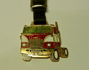 Chevrolet Semi Truck Cab Watch Fob- Chevy Trucks- with Strap