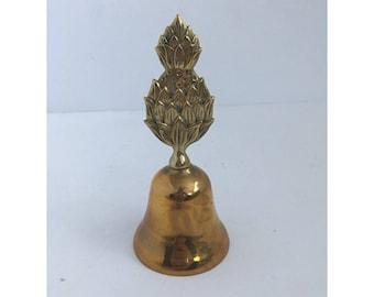 Vintage Brass Pineapple Desk Bell