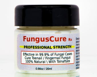 Nail Fungus Treatment For Toe & Finger Nail Fungal Infections - #1 Natural Cure Clinically tested to work 99.9% of the time - Free Shipping