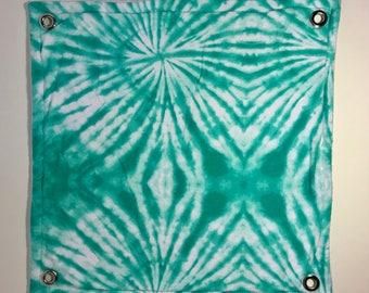 Green Tie-Dye Flat Hammock