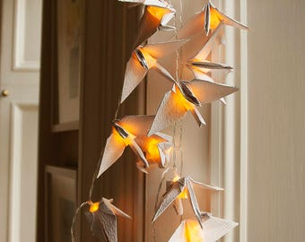 20 LED Lucky Origami Crane String Lights