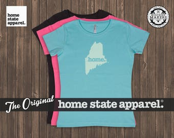 Maine Home. T-shirt- Women's Relaxed Fit