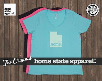 Utah Home. T-shirt- Women's Curvy Fit