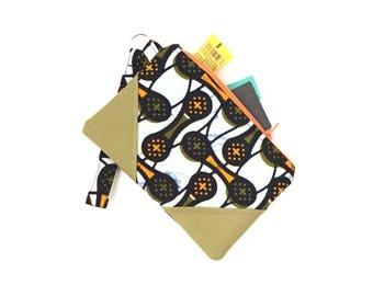 ankara fabric wristlet, wristlet clutch, wristlet, zip clutch wallet, zip clutch, black clutch purse, evening bag, clutch purses for women