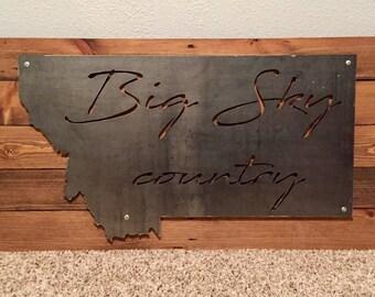 Montana Metal Big Sky Country - Large