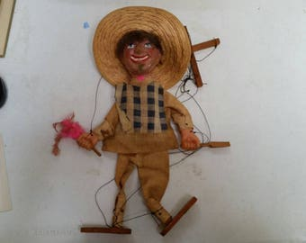 Marionette puppet mexican Sombrero
