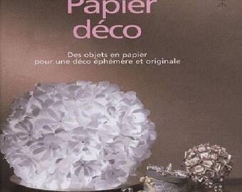 Book: Decorative paper, paper - original decoration - creative objects