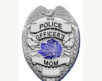 15% OFF SALE Police Officer's Mom Reflective Decal SKU: D589