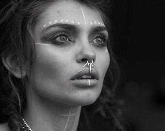Septum Ring , Septum Piercing , Nose Ring , Septum Jewelry , Septum , Nose Piercing , Nose Jewelry , Special Nose Ring , Big Septum Jewelry