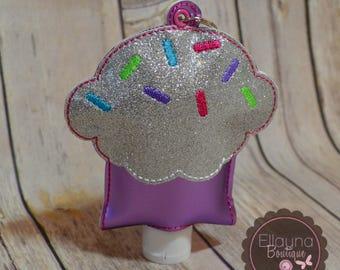 Hand Sanitizer Holder - Cupcake