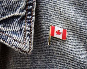 Canadian Flag Enamel Pin