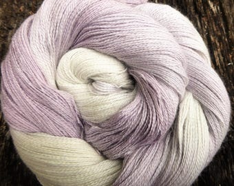 Baby ALPACA, CASHMERE, SILK, Silver stellina, sparkle, Laceweight, Mollycoddle Yarns, Hand dyed wool, Lace, shawl, 100 gms, 800 mts
