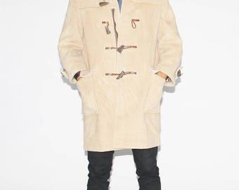 Final SALE - 70s Gloverall Duffle Coat - 1970s British Luxury Coat  - Vintage Designer Coats - MO0008
