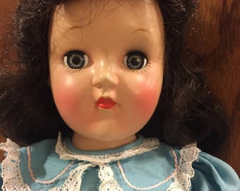 Vintage Ideal Toni doll with perm set