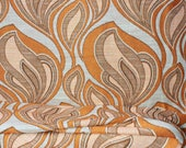 Original 1960s fabric, curtain fabric by the meter, dead stock