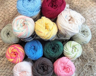 Lily Sugar and Cream Cotton Yarn