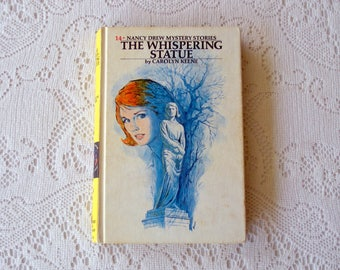 Vintage Book in the Nancy Drew Series, The Whispering Statue