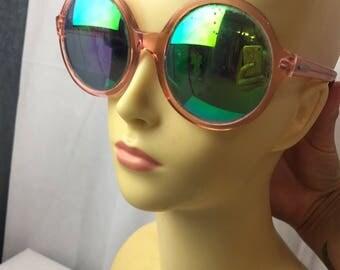 Glitter and Cross of London Retro Glasses