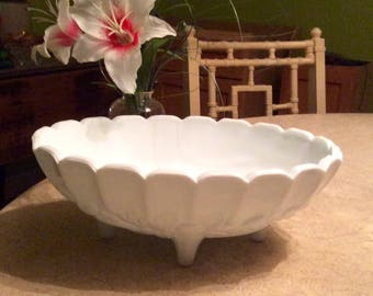 Reduced! Indiana Milk Glass Bowl