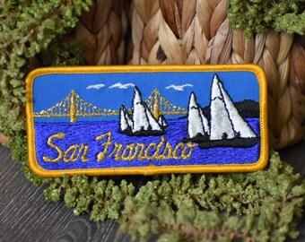 Vintage San Francisco Travel Patch