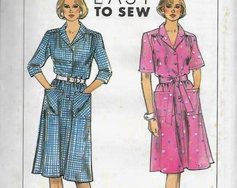 Simplicity 9146         Misses/Petite Dress        Size 6-14, or Size 16-24        Uncut