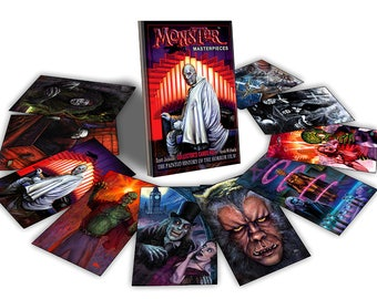 Horror Movie Trading cards - Monster Masterpieces Vol. 1 by Scott Jackson - classic horror movies