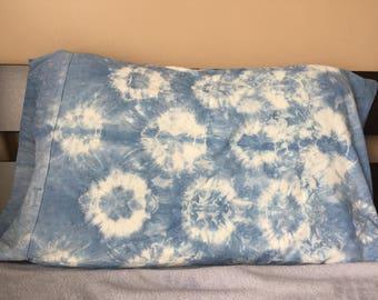 Natural Hand-Dyed Indigo Pillow Case