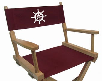 Sunbrellar Directors Chair Replacement Flat Stick Covers
