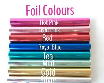 Minc REACTIVE FOIL - 12.25 Inch - Heidi Swapp Foil Machine - 9 Colours - SAVE 25%
