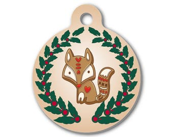 Fox Charm   Birthday Gift   Christmas Gift   Stocking Stuffer   Create Your Own Necklace