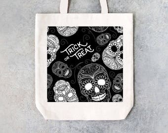 Modern Halloween Trick or Treat bag
