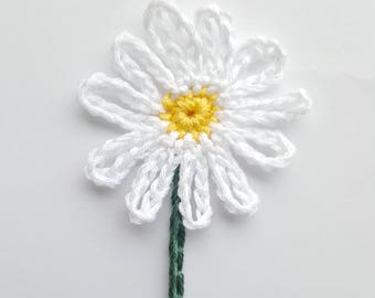 Large Daisy Umbilical Cord Tie for Newborn Baby - MADE TO ORDER