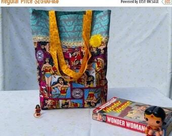 ON SALE Wonder Woman Tote Bag